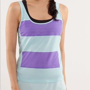 Lululemon Run Mod Moves Singlet Tank Top